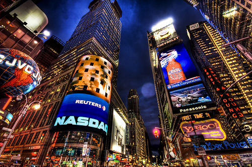 new york times square pictures. new york times square canvas