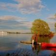 Trois jours au vert sur l'Ile de Wolfe Island au large de Kingston Ontario...