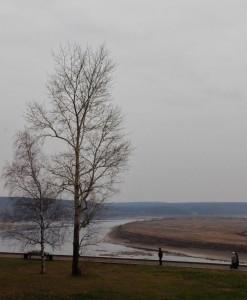 Au delà de la Tom (rivière), au Sud de la ville, c'est la Taïga sibérienne
