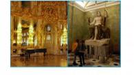 Quelques mots sur 2 des splendeurs de Saint-Pétersbourg / Einige Zeilen zu zwei der kulturellen Sehenswürdigkeiten in Sankt Petersburg